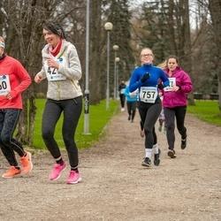 Sinilillejooks TARTU 2019 - Merike Rand (560), Ingrid Alla (757)