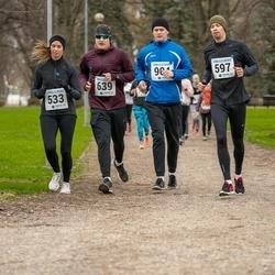 Sinilillejooks TARTU 2019 - Liis Piilberg (533), Lauri Sokk (597), Arto Tõnnis (639)