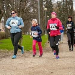 Sinilillejooks TARTU 2019 - Maarja Laanesaar (437), Heli Laurimaa (453)