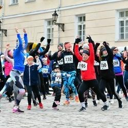 Sinilillejooks TARTU 2019 - Arno Kärg (426), Küllike Pedaste (528), Kaire Prüüs (541), Kati-Karoli Silla (595), Karina Kolosova (730), Merit Mäevälja (732)