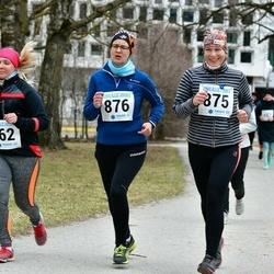 Sinilillejooks TARTU 2019 - Helen Tammiksaar (862), Marina Liinar (875), Tiina Kartau (876)