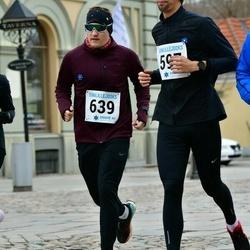Sinilillejooks TARTU 2019 - Lauri Sokk (597), Arto Tõnnis (639)