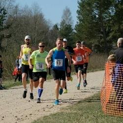 Rannametsa Luitejooks - Raido Krimm (8), Lauri Pugast (8), Jaanus Mäe (13), Andrus Möll (13), Simo Teearu (14), Marge Nõmm (14), Andre Kaaver (18), Ermo Schön (18)