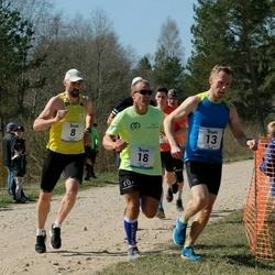 Rannametsa Luitejooks - Raido Krimm (8), Lauri Pugast (8), Jaanus Mäe (13), Andrus Möll (13), Andre Kaaver (18), Ermo Schön (18)