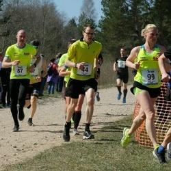 Rannametsa Luitejooks - Arno Bester (44), Ingrid Lembit (44), Tanel Pentma (87), Marjaliisa Umb (99), Arnold Laasu (219)