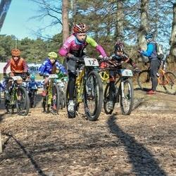Husqvarna Eesti Olümpiakrossi karikasari I etapp - Gevert Aola (5), Markus Aleksander Saar (8), Karmen Valmsen (11), Mairit Kaarjärv (12)