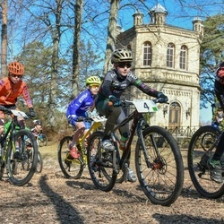 Husqvarna Eesti Olümpiakrossi karikasari I etapp - Marta Mõttus (4), Gevert Aola (5), Markus Aleksander Saar (8)