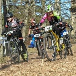 Husqvarna Eesti Olümpiakrossi karikasari I etapp - Mauro Erik Saar (20), Kristo Latik (21), Eliise Kivistu (24)