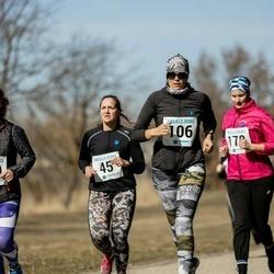 Sinilillejooks PÄRNU 2019 - Monika Andrejev (45), Õnne Lebedev (106), Riina Tammistu (170)