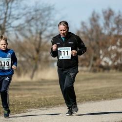 Sinilillejooks PÄRNU 2019 - Joosep Limberk (110), Kalle Limberk (111)