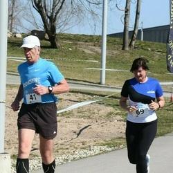 ERMi II Jüriöö Jooks - Bruno Münter (41), Piret Uunap (69)