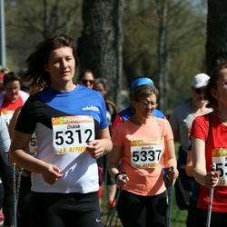 90. Suurjooks ümber Viljandi järve - Natalja Antonova (5308), Diana Tetre (5312), Annika Rull (5337)