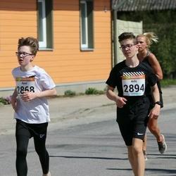 90. Suurjooks ümber Viljandi järve - Karel Pedaste (2868), Arlis Hunt (2894)