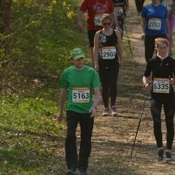 90. Suurjooks ümber Viljandi järve - Age Antsov (2903), Anders Kivitar (5163), Eva-Mai Sõrmus (5335)