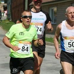 90. Suurjooks ümber Viljandi järve - Ago Veilberg (50), Andre Kaaver (84), Priit Ailt (2274)