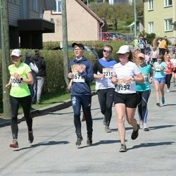 90. Suurjooks ümber Viljandi järve - Ülle Liiv (1002), Anna-Triin Ježova (1292), Rainer-Kevin Suuder (1677)