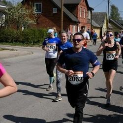 90. Suurjooks ümber Viljandi järve - Jelena Laudver (1463), Aare Leisson (2063), Mari Kareda (2583)
