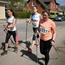 90. Suurjooks ümber Viljandi järve - Margot Park (5035), Annika Rull (5337)