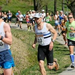 90. Suurjooks ümber Viljandi järve - Madis Osjamets (23), Andre Kaaver (84)