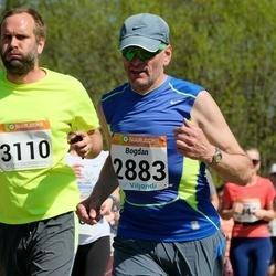 90. Suurjooks ümber Viljandi järve - Bogdan Prokopjuk (2883), Art Elmik (3110)