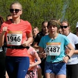 90. Suurjooks ümber Viljandi järve - Annika Nõulik (1946), Lotta Laureen Loo (2487)
