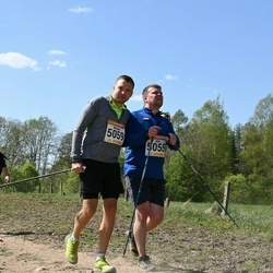 90. Suurjooks ümber Viljandi järve - Ahti Järvet (5055), Margus Aule (5059)