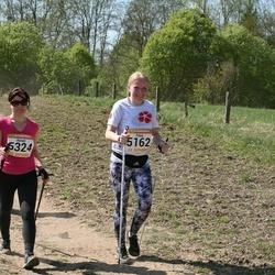 90. Suurjooks ümber Viljandi järve - Triinu Hajanen (5162), Anneli Silm (5324)