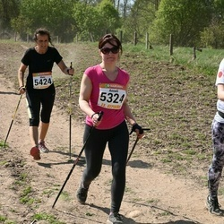 90. Suurjooks ümber Viljandi järve - Anneli Silm (5324), Maiu Udalov (5424)