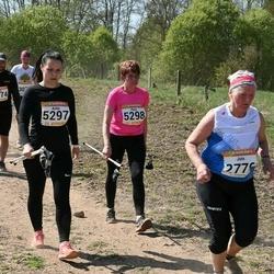90. Suurjooks ümber Viljandi järve - Juta Virkepuu (2776), Anita Semjonova (5297), Piret Liiva (5298)