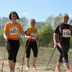 90. Suurjooks ümber Viljandi järve - Anneli Sitska (5184), Aire Käo (5410), Lagle Vilu (5411)