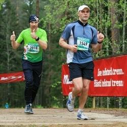 37. Tartu Maastikumaraton - Tanel Tamm (1549), Jürjo Voitka (2018)