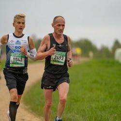37. Tartu Maastikumaraton - Jürgen Külm (1043), Jaanus Pedak (2493)