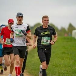 37. Tartu Maastikumaraton - Rene Kottisse (1129), Kristjan Lusikas (1174)