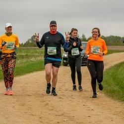 37. Tartu Maastikumaraton - Anete Aasmäe (1777), Meelis Külaots (1801), Inna Kalliver (1860), Egle Rebane (1874)