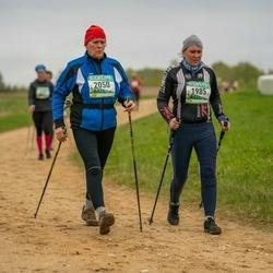 37. Tartu Maastikumaraton - Piret Rajasaar (1985), Marge Kruusimägi (2050)