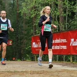 37. Tartu Maastikumaraton - Meliko Siniorg (1453), Monika Piirimäe (2258)
