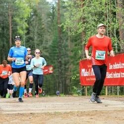 37. Tartu Maastikumaraton - Jaak Muug (1430), Aivi Laurik (1455)