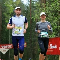 37. Tartu Maastikumaraton - Mait Vaiksaar (110), Annika Vaiksaar (1898)