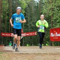 37. Tartu Maastikumaraton - Kati Välimets (2127), Lembit Künnapas (2229)