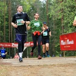37. Tartu Maastikumaraton - Jaanika Kurgjärv (1722), Kaarel Kukk (2424), Taavi Sööt (2437)