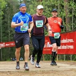 37. Tartu Maastikumaraton - Kaido Piho (2074), Robert Kitt (2306), Raino Nurme (2431)