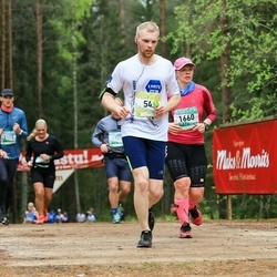 37. Tartu Maastikumaraton - Rauno Kaiv (54), Pille Muni (1660)