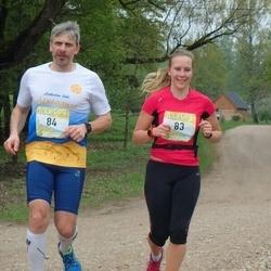 37. Tartu Maastikumaraton - Annika Altoja (83), Jaanus Altoja (84)