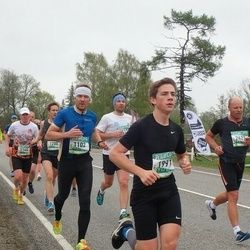 37. Tartu Maastikumaraton - Arno Bachaus (1102), Rasmus Kruusa (1991)