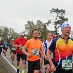 37. Tartu Maastikumaraton - Arnis Sulmeisters (1275), Ivo Stolfot (2363)