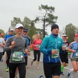 37. Tartu Maastikumaraton - Annika Vaiksaar (1898), Henri Metsavas (2084)