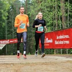 37. Tartu Maastikumaraton - Karoliine Kuus (1203), Mihkel Joonas (2343)