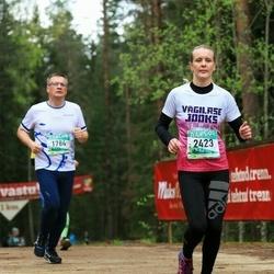 37. Tartu Maastikumaraton - Madis Raudsaar (1784), Siiri Sirge (2423)