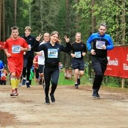 37. Tartu Maastikumaraton - Kullar Kert (5267), Aare Allaje (8043), Eveliin Rump (8887)