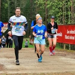 37. Tartu Maastikumaraton - Ene Ojaperv (2443), Aivar Arik (8060)